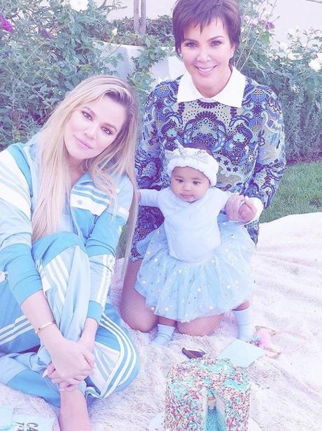Khloe Kardashian True Thompson Kris Jenner