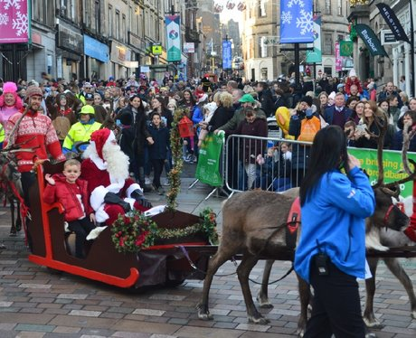 Stirling Christmas Light Switch On!