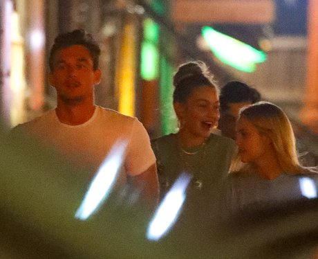 Gigi Hadid and Tyler Cameron in New York