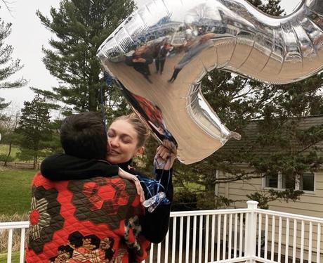 Zayn and Gigi Hadid celebrate her 25th birthday
