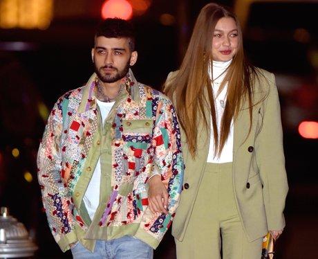 Zayn and Gigi Hadid on a walk in New York