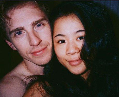 Leah Lewis and boyfriend Payton Lewis