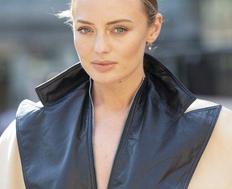 Laura Haddock at London Fashion Week