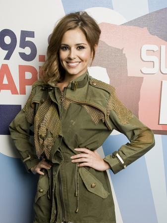Cheryl Cole Backstage
