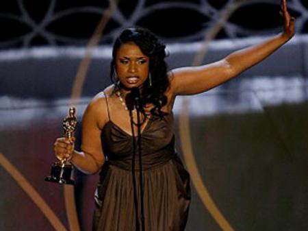 Jennifer Hudson at the Oscars